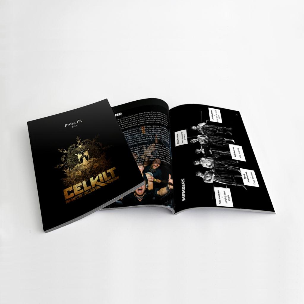 dossier de presse musique Celkilt
