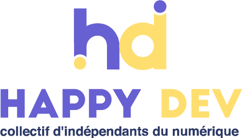 logo happy dev france coraline ribière
