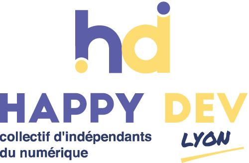 logo happy dev lyon coraline ribière