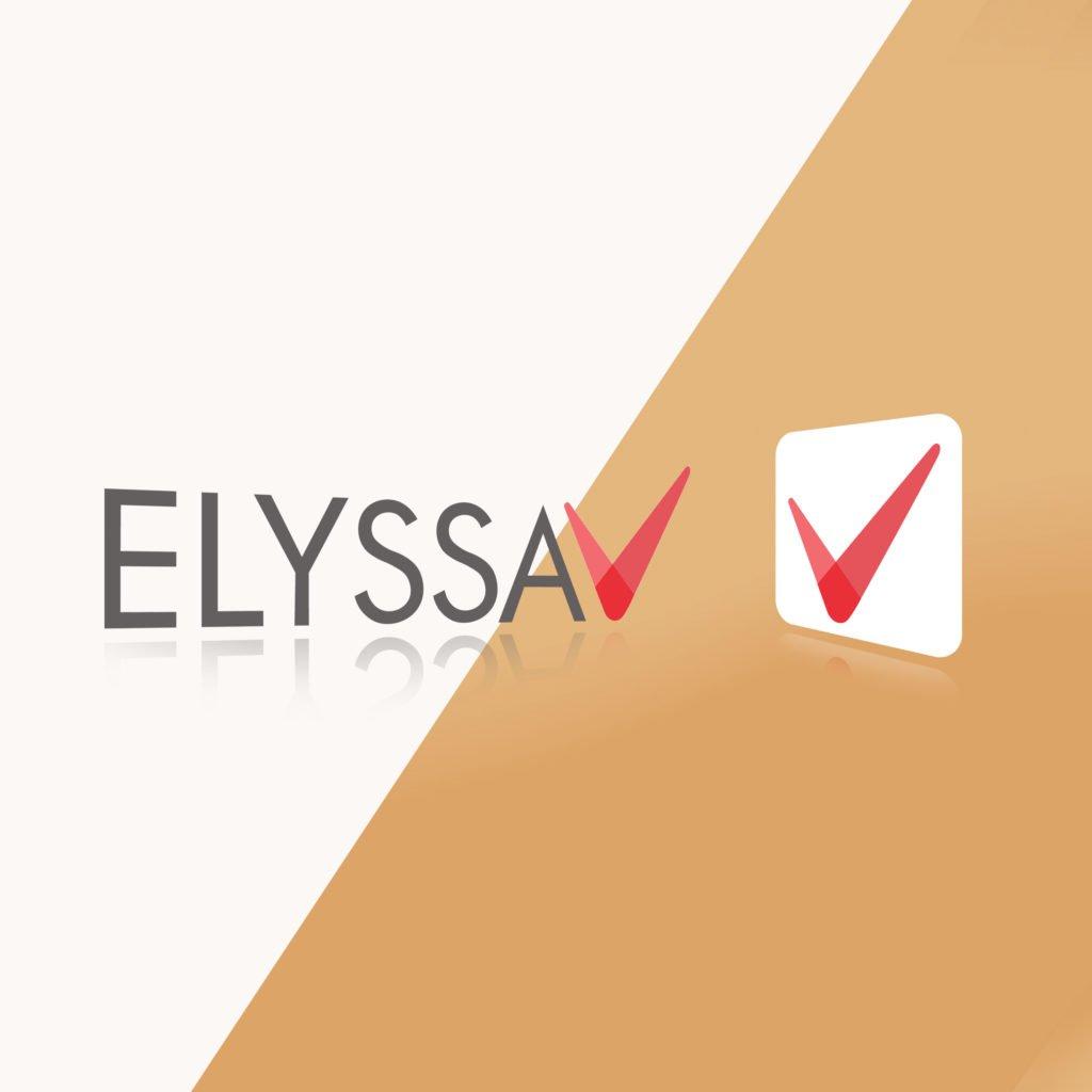 Projet Elyssa re design logo institutionnel et application mobile