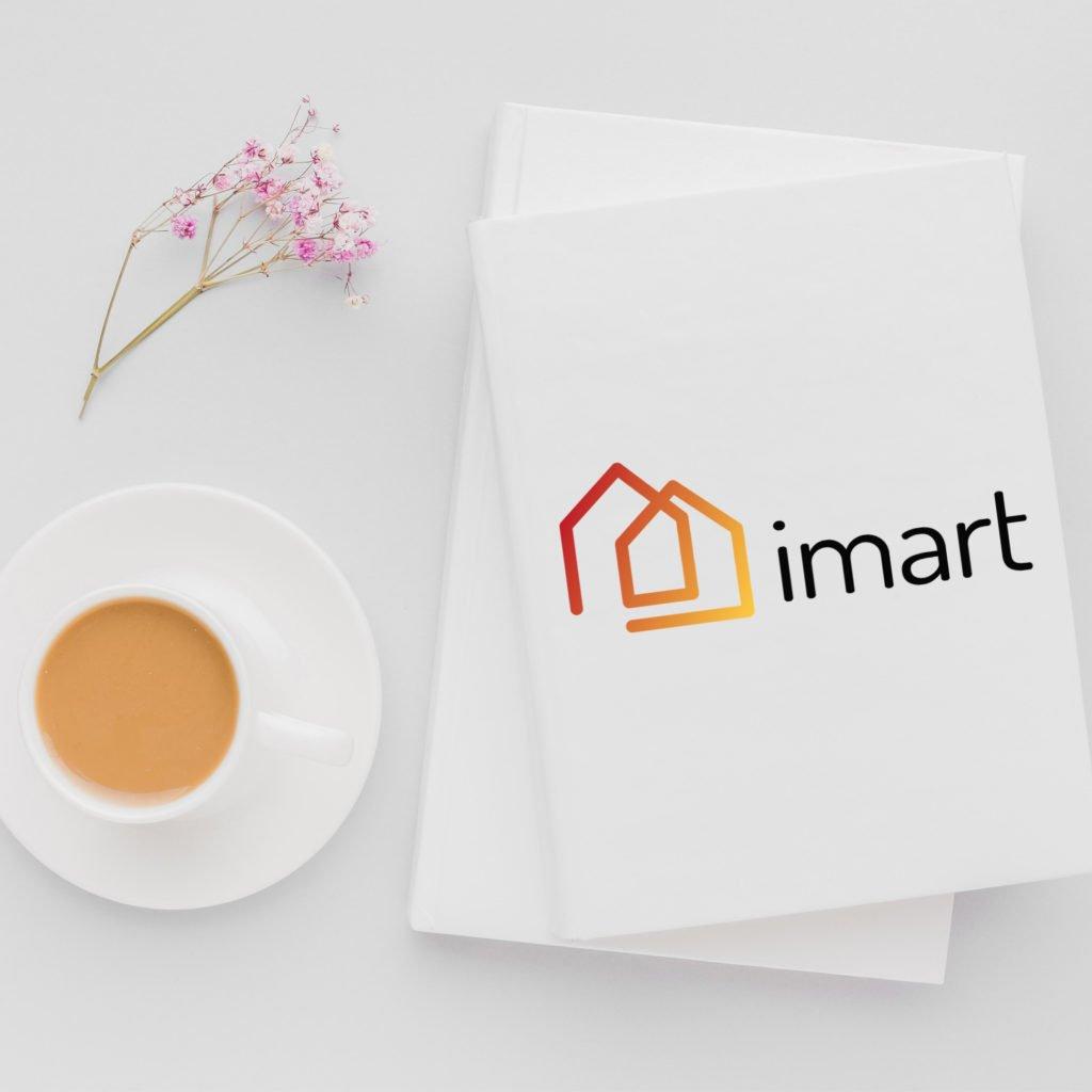 Projet Imart logo design illustrations